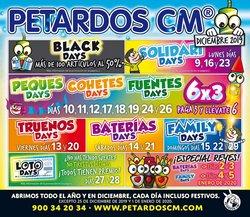 Ofertas de Ocio en el catálogo de Petardos CM en Vilafranca del Penedes ( 7 días más )