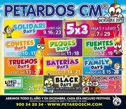 Ofertas de Ocio en el catálogo de Petardos CM en Torrelavega ( 3 días más )