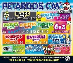 Ofertas de Ocio en el catálogo de Petardos CM en Alcorcón ( 7 días más )
