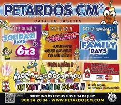 Catálogo Petardos CM ( Caducado)