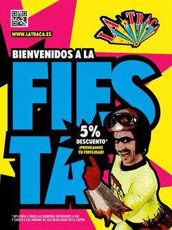 Ofertas de Ocio  en el folleto de La Traca en Huelva