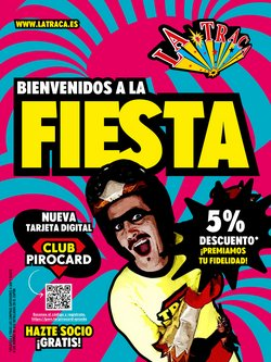 Ofertas de Ocio en el catálogo de La Traca en Mairena del Aljarafe ( Más de un mes )