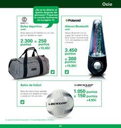 Ofertas de Bolsa de deporte  en el folleto de BP España en Madrid