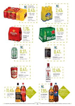 Ofertas de Cerveza  en el folleto de HiperDino en La Orotava