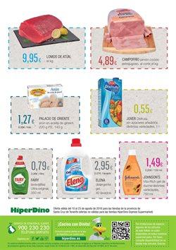 Ofertas de Campofrío  en el folleto de HiperDino en La Orotava