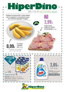 Ofertas de Detergente gel  en el folleto de HiperDino en Telde