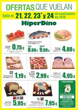 Ofertas de HiperDino  en el folleto de Las Palmas de Gran Canaria