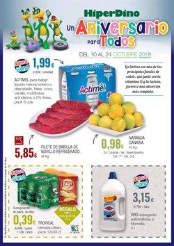 Ofertas de Detergente líquido  en el folleto de HiperDino en Las Palmas de Gran Canaria