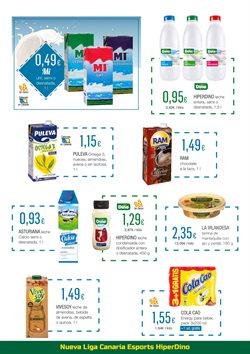 Ofertas de Cola Cao  en el folleto de HiperDino en San Cristobal de la Laguna (Tenerife)