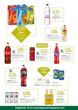Ofertas de Coca-Cola  en el folleto de HiperDino en San Cristobal de la Laguna (Tenerife)