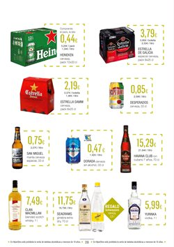 Ofertas de Whisky  en el folleto de HiperDino en Vecindario