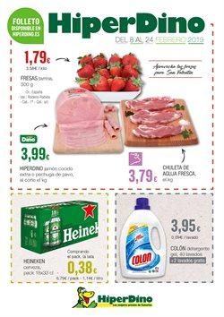 Ofertas de Heineken  en el folleto de HiperDino en Santa Lucía de Tirajana