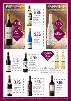 Ofertas de Viña Albali  en el folleto de HiperDino en San Cristobal de la Laguna (Tenerife)