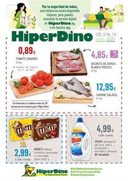 Ofertas de Hiper-Supermercados en el catálogo de HiperDino en Adeje ( 2 días publicado )