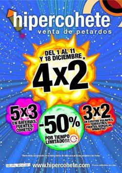 Ofertas de Ocio  en el folleto de Hipercohete en Madrid