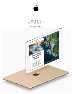 Ofertas de IPad  en el folleto de Apple en Madrid