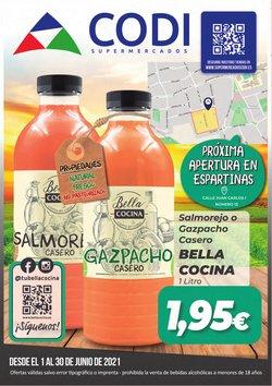 Ofertas de Supermercados Codi en el catálogo de Supermercados Codi ( 11 días más)