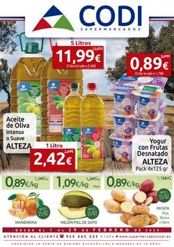 Catálogo Supermercados Codi en Utrera ( 11 días más )