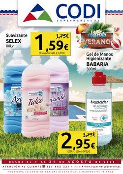 Catálogo Supermercados Codi en Sevilla ( 16 días más )