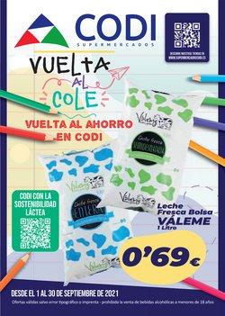 Catálogo Supermercados Codi ( 14 días más)