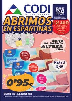 Catálogo Supermercados Codi ( 3 días más)