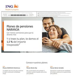 Ofertas de ING Direct  en el folleto de Paterna