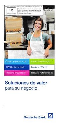 Catálogo Deutsche Bank en Palma de Mallorca ( Más de un mes )