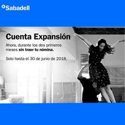 Ofertas de Banco Sabadell  en el folleto de Madrid