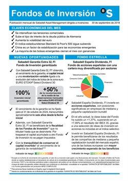 Ofertas de Banco Sabadell  en el folleto de San Sebastián de los Reyes