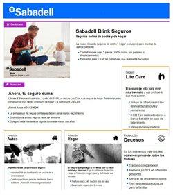 Ofertas de Seguros en Banco Sabadell