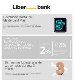 Ofertas de Bancos y seguros  en el folleto de Liberbank en San Juan de Aznalfarache