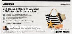 Ofertas de Bancos y Seguros en el catálogo de Liberbank en Ampuero ( Más de un mes )