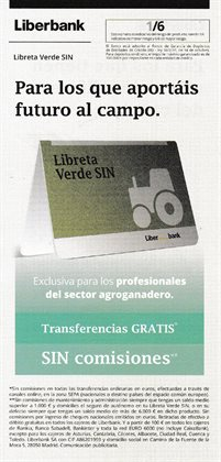 Ofertas de Bancos y Seguros en el catálogo de Liberbank en Alcalá del Río ( Publicado ayer )