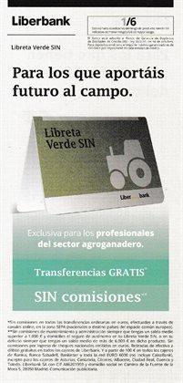 Ofertas de Libreta en Liberbank