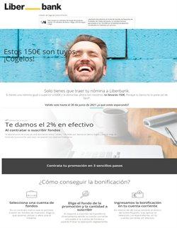 Ofertas de Bancos y Seguros en el catálogo de Liberbank ( Más de un mes)