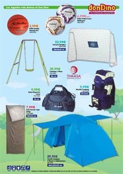 Ofertas de Balón de fútbol  en el folleto de Don Dino en Getafe