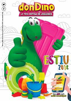 Ofertas de Juguetes y bebes  en el folleto de Don Dino en Palamos