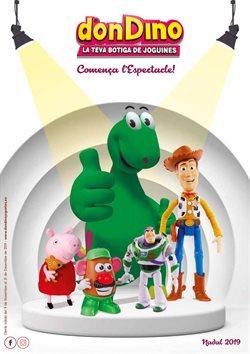 Ofertas de Juguetes y bebes  en el folleto de Don Dino en Tortosa