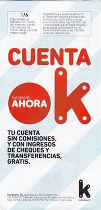Ofertas de Kutxa  en el folleto de Madrid