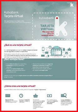 Ofertas de Bancos y seguros  en el folleto de Kutxa en Eibar