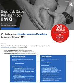 Ofertas de Kutxa  en el folleto de Pinto