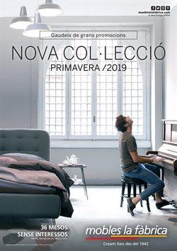 Ofertas de Muebles La Fábrica  en el folleto de Girona