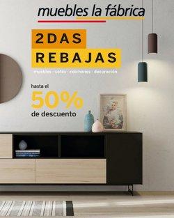 Ofertas de Muebles La Fábrica en el catálogo de Muebles La Fábrica ( 9 días más)