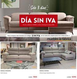 Ofertas de Muebles La Fábrica en el catálogo de Muebles La Fábrica ( Publicado ayer)