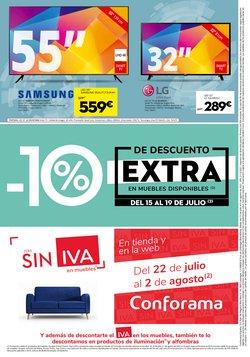 Ofertas de Samsung en el catálogo de Conforama ( Caduca mañana)