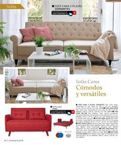 Ofertas de Sofá cama  en el folleto de Conforama en Telde