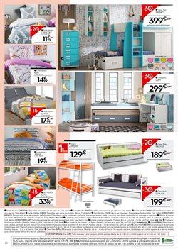 Ofertas de Dormitorio juvenil  en el folleto de Conforama en Zaragoza