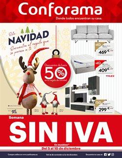 Ofertas de Conforama  en el folleto de San Cristobal de la Laguna (Tenerife)