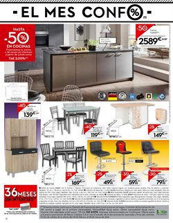 Ofertas de Muebles de cocina  en el folleto de Conforama en Alicante