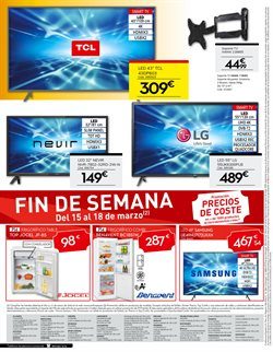 Ofertas de Smart tv led 32''  en el folleto de Conforama en Madrid